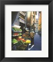 A Stroll in Florence Fine Art Print