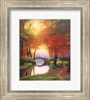 Beside still waters Fall Fine Art Print