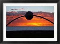 Millennial Arch Ecliptic, Sunset, No Island, New Zealand Fine Art Print