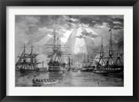 US Naval Ships during the Civil War Fine Art Print
