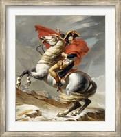 Napoleon Bonaparte on his Horse Fine Art Print