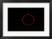 Totality During Annular Solar Eclipse Fine Art Print