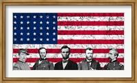 Top Union Generals of the American Civil War Fine Art Print