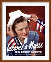 Become a Nurse Fine Art Print