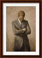 John F Kennedy Fine Art Print