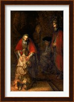 Return of the Prodigal Son, c.1668 Fine Art Print