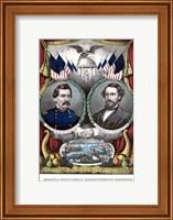 Democratic Campaign Poster Fine Art Print