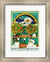 The Blossoming Kitchen I Fine Art Print