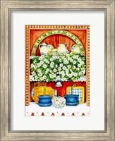 The Blossoming Kitchen II Fine Art Print