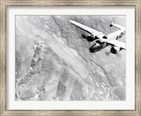B-25 bomber During WWII Fine Art Print