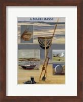 A mare basse Fine Art Print