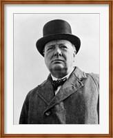 Sir Winston Churchill Fine Art Print