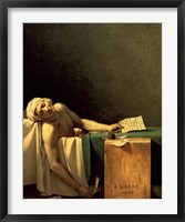 The Death of Marat, 1793 Fine Art Print