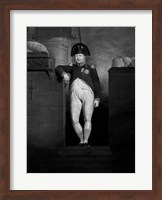Napoleon Bonaparte Exiting a Ship Fine Art Print