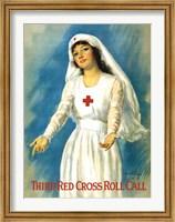 Third Red Cross Roll Call Fine Art Print