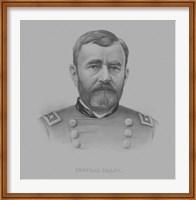 General Ulysses S. Grant (drawn portrait) Fine Art Print