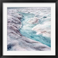 Athabasca Glacier, Columbia Icefields, Alberta Fine Art Print