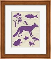Woodland Creatures I Fine Art Print
