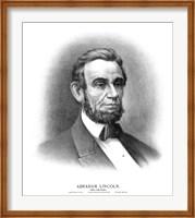 President Abraham Lincoln Fine Art Print