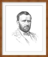 General Ulysses S Grant (vitage Civil War portrait) Fine Art Print
