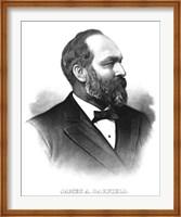 James A. Garfield Fine Art Print