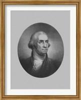 President George Washington (vintage bust) Fine Art Print
