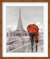 Couple in Paris Fine Art Print