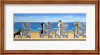 Beach Chair Tails II Fine Art Print