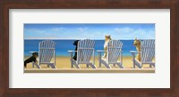 Beach Chair Tails II Fine Art Print