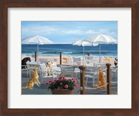 Beach Club Tails Fine Art Print