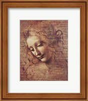 Head of a Young Woman with Tousled Hair Fine Art Print