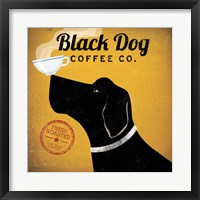 Black Dog Coffee Co. Fine Art Print