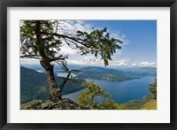 Strait of Georgia, Salt Spring Isl, British Columbia Fine Art Print