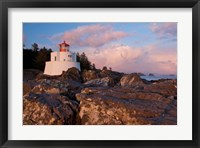 Amphitrite Lighthouse, Vancouver Is, British Columbia Fine Art Print