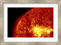 2012 Transit of Venus and the Sun Fine Art Print