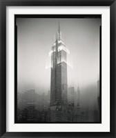 Empire State Building Motion Landscape #2 Fine Art Print