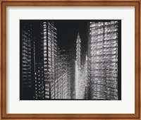 Chrysler Building Motion Landscape #4 Fine Art Print