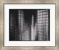 Chrysler Building Motion Landscape #4 Fine Art Print