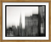Chrysler Building Motion Landscape #1 Fine Art Print
