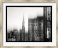 Chrysler Building Motion Landscape #1 Fine Art Print