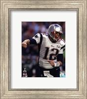 Tom Brady Touchdown Celebration Super Bowl XLIX Fine Art Print
