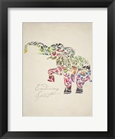 Elephant Set 02 Fine Art Print