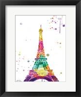 Eiffel Watercolor Fine Art Print