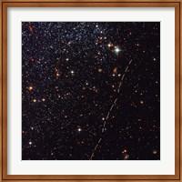 Hubble Tracks Asteroid's Sky Trek Fine Art Print