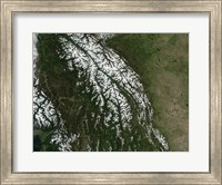 View of the Rocky Mountains Fine Art Print