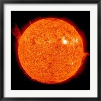 Solar activity on the Sun Fine Art Print
