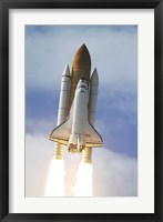 Space Shuttle Atlantis Lifts Off from Kennedy Space Center Fine Art Print