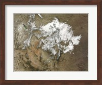 Snow Covers the Rocky Mountains in the Western United States Fine Art Print