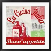 La Cucina Italia Fine Art Print