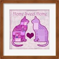 Home Sweet Home Cats III Fine Art Print